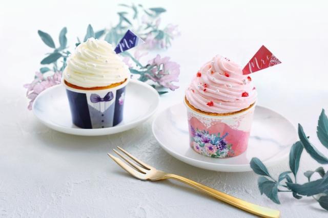 画像: インスタ映えする「ウェディングカップケーキ手作りキット」を来館者にプレゼント!