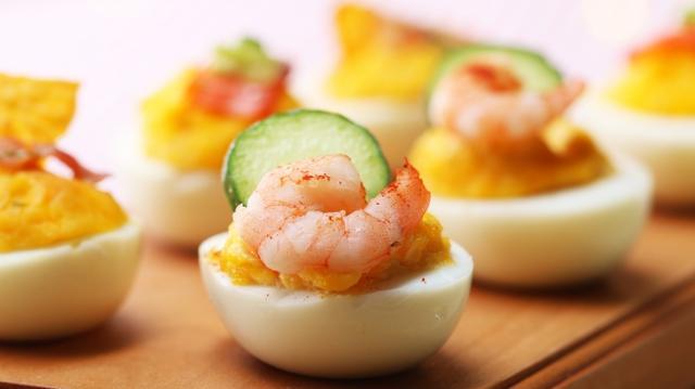 画像: おうちで簡単!女子会レシピ 3 種のデビルドエッグ