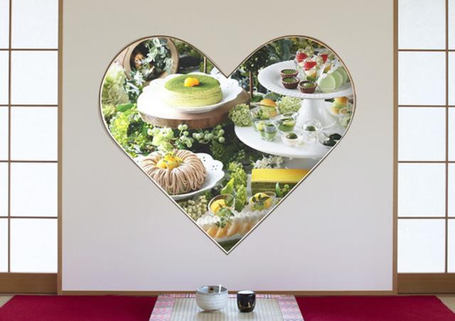 画像1: 祇園辻利の宇治抹茶を使用した風味豊かな抹茶スイーツが食べ放題!