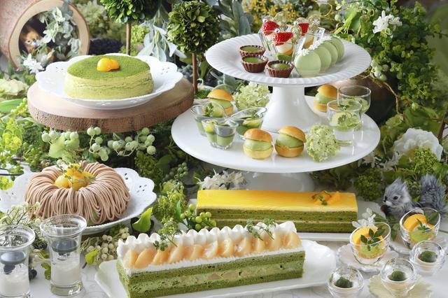 画像2: 祇園辻利の宇治抹茶を使用した風味豊かな抹茶スイーツが食べ放題!