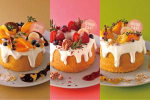 画像: 2018.4.1(SUN)新登場♪1周年記念のデコレーションがカワイイ!米粉を使ったシフォンケーキ「BARBARA GOOD CAKE」/BARBARA GOOD SWEETS TABLE