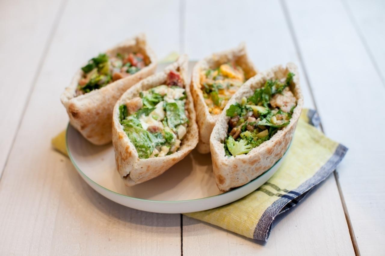 画像: GBのサラダを片手で気軽に楽しめる「GB PITA」4種が新登場