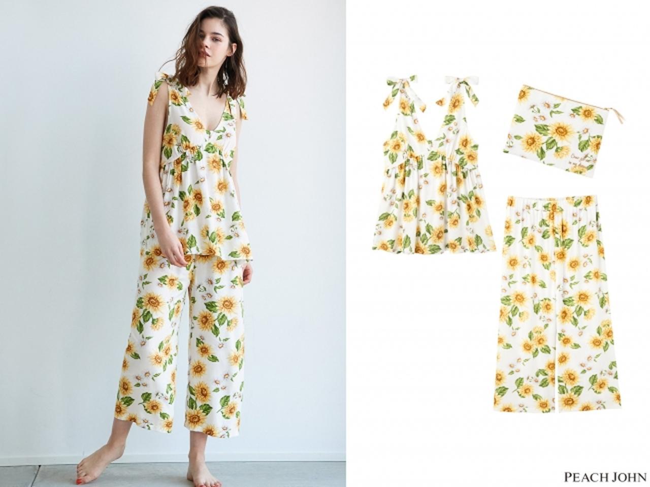 画像2: 人気のシャツパジャマも春夏気分に♡