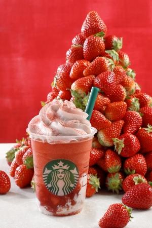 画像: スタバのサマーシーズン第一弾は史上最高の「イチゴ過ぎる、イチゴ感」