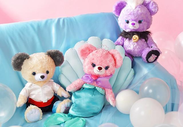 画像: Disney Princess BEARシリーズに『リトル・マーメイド』モチーフが仲間入り