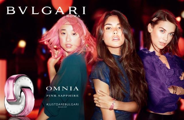 画像1: ブルガリ新フレグランス「オムニア ピンク サファイヤ」発売記念!#はじけるピンク をテーマにキャンペーンを展開中