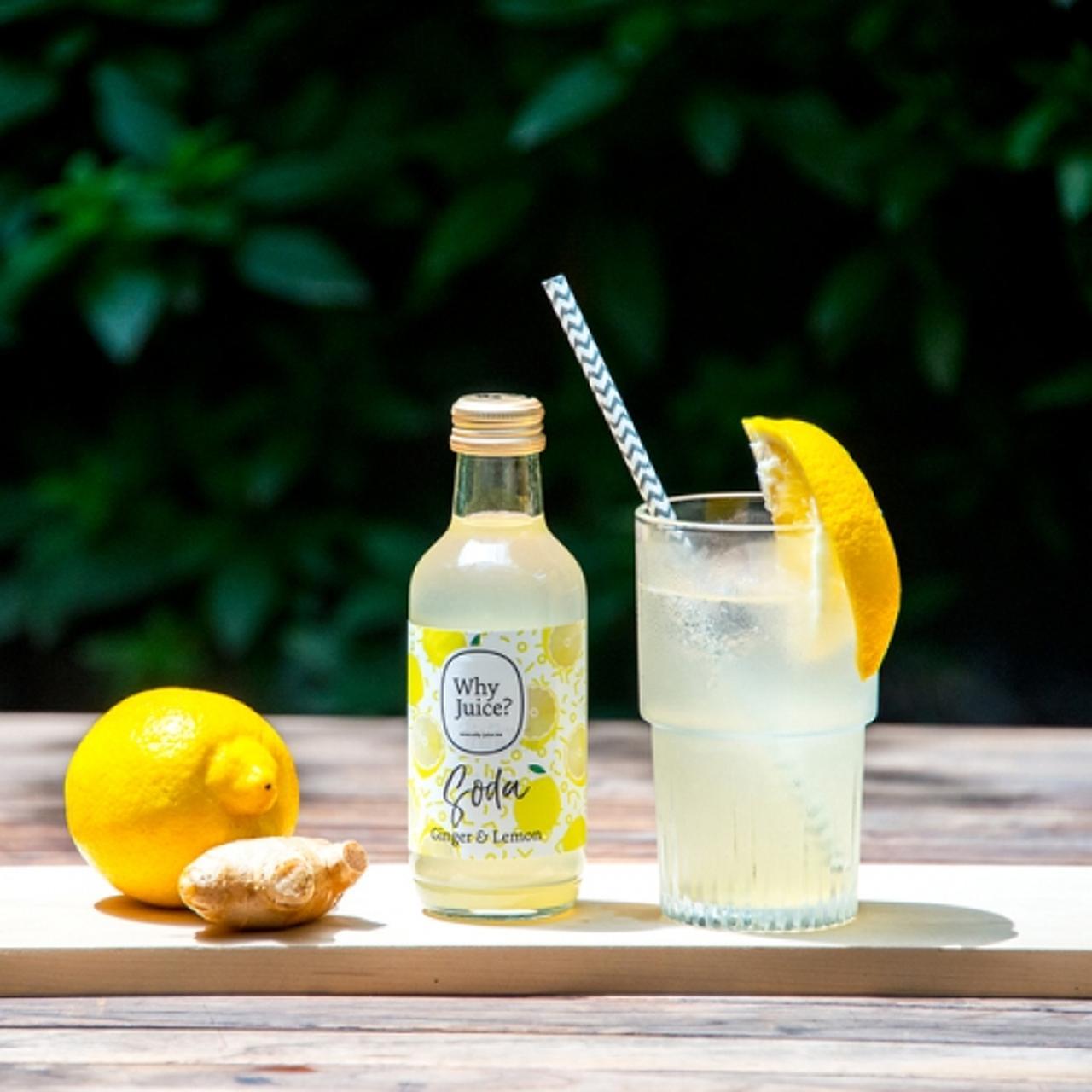 画像1: 昨夏に発売し大好評だった夏限定「ジンジャーレモンソーダ」がパワーアップして今年も登場!