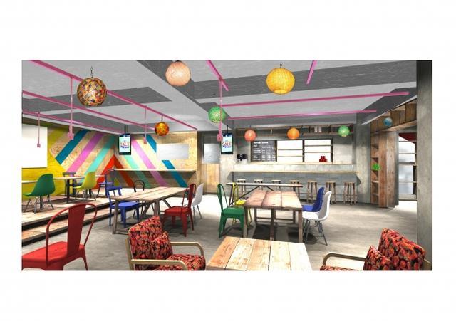 画像1: スピンズ新業態!古着屋 ×カフェ 「SPINNS VINTAGE&CAFÉ 」がオープン!