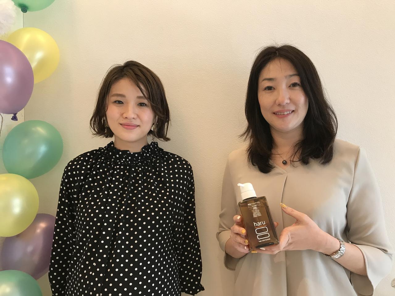 画像: (左から)SHOKOさん・鮫島貴子さん