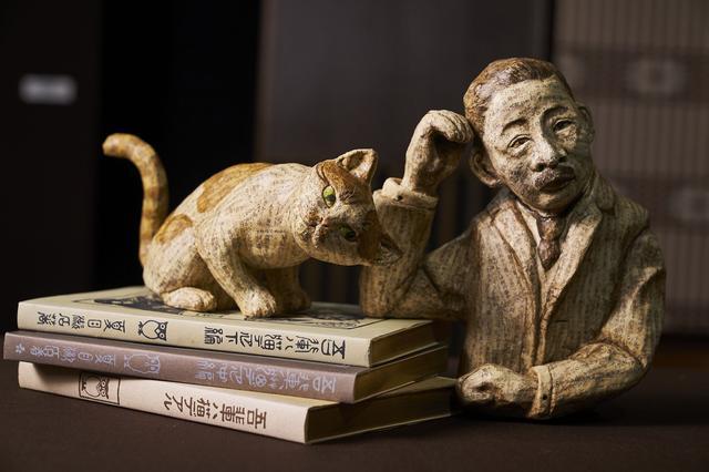 画像: 古本によって創られた張子 文庫張子夏目漱石/古本選堂