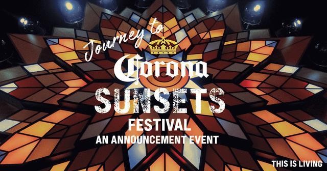 画像: JOURNEY TO CORONA SUNSETS FESTIVAL | Corona Extra - コロナ・エキストラ / コロナビール公式サイト