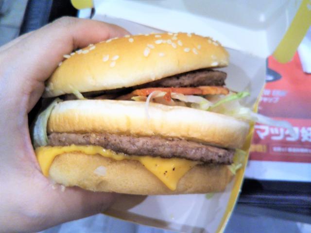 画像: 新商品その1 スモーキーなベーコンが入った『ビッグマック ベーコン』