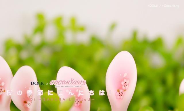 """画像2: 春到来!アニマルドールデザインで人気の""""うさぎドール""""が 桜リミテッドで期間限定で予約受付スタート!"""