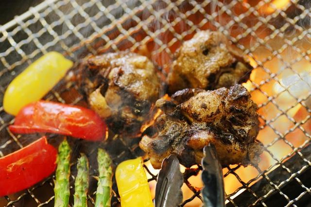 画像2: 牛テールの炭火焼& 〆のテールスープかけ玄米ご飯