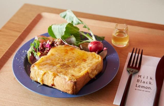 画像: フランス産チーズ「コンテ」が代官山の人気カフェの看板メニュー「とろけるチーズトースト」に!