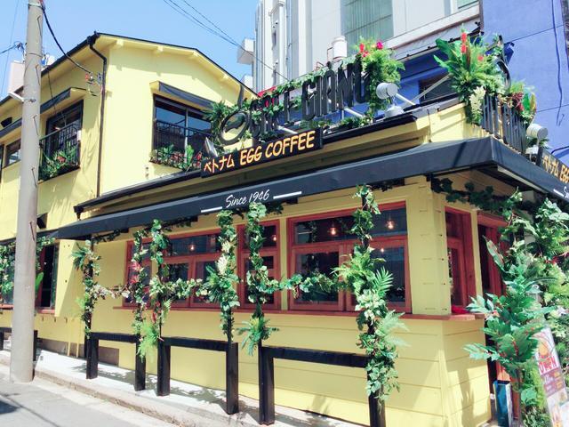 """画像1: 【日本初上陸!】ハノイ発祥""""エッグコーヒー""""で有名な『CAFE GIANG(カフェ ジャン)』が横浜にオープン!"""