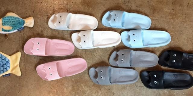 画像: カラーは5色 ピンク・ホワイト・ブルー・グレー・ブラック フリーサイズ 約23cm~25cm
