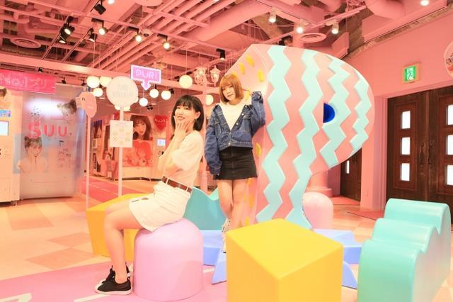 """画像1: 「""""せかいいち、かわいい""""プリのお店」がコンセプトのプリ機専門店『moreru mignon』が舞浜イクスピアリに!"""