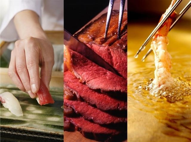 画像: 寿司やローストビーフ、ホテル王道メニューもお好きなだけ!