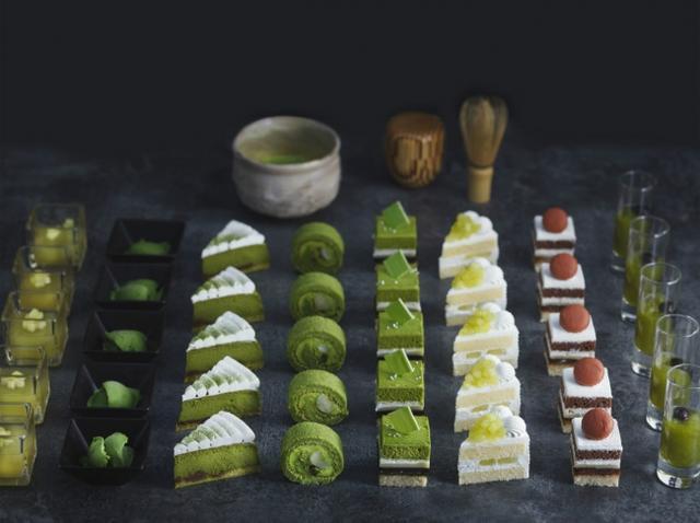 画像: 京都「宇治抹茶」を味わうプレミアムビュッフェが登場。