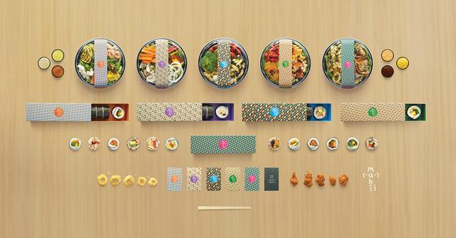 画像: SNS映えするカラフルな店内装飾及びパッケージ