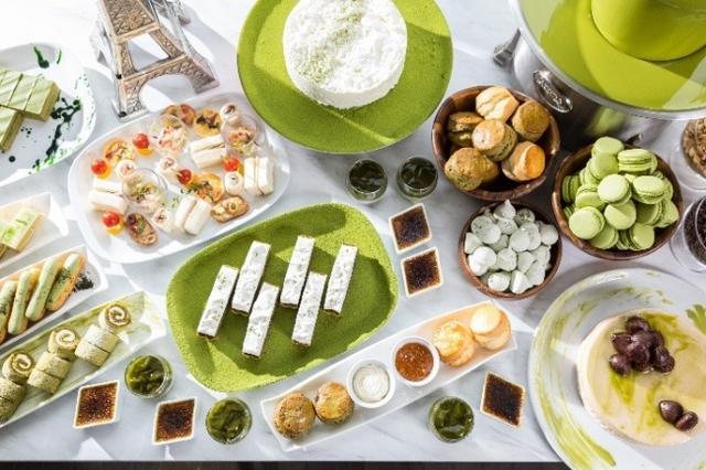 画像: 宇治抹茶を贅沢につかったフレンチ アフタヌーンティー