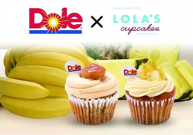 画像1: Dole×LOLA'S Cupcakes コラボカップケーキが3ヶ月間限定発売!