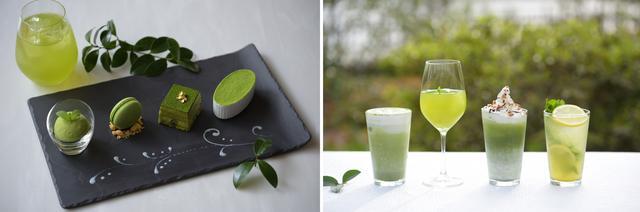 画像: 初夏の季節に贅沢な宇治抹茶の香りを楽しむ期間限定フェア 「Matcha Green Tea」