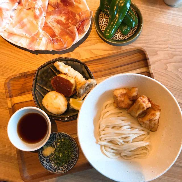 画像: 実はここ、肉が美味しい!日本酒にぴったりという生ハムや、鶏天のお肉も美味しいですよ。