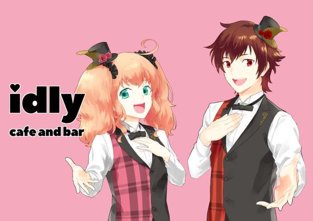 画像: ピンクの内装の女性向けアニメバー「idly cafe and bar」がニューオープン!