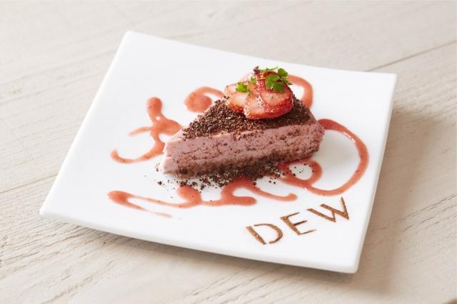 画像: ■ヘルシーに愉しむ苺のヴィーガンムースケーキ 価格:890円(税抜)