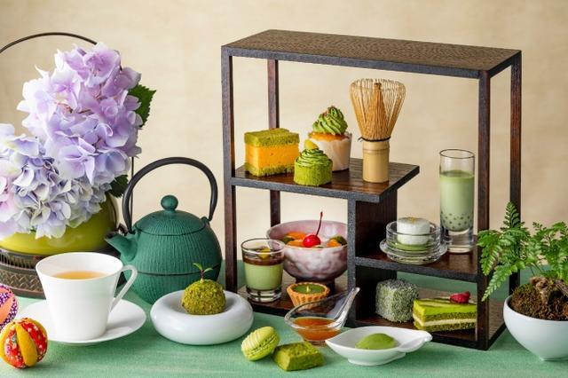 画像1: 初夏を彩る抹茶スイーツで風情を楽しむひとときを…。