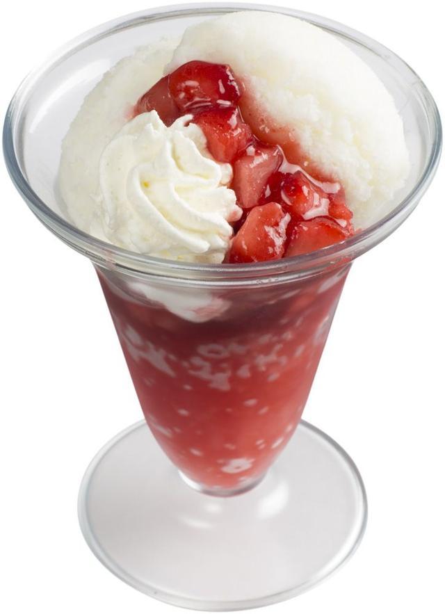 画像: 『練乳かき氷いちご』 280 円(+税)