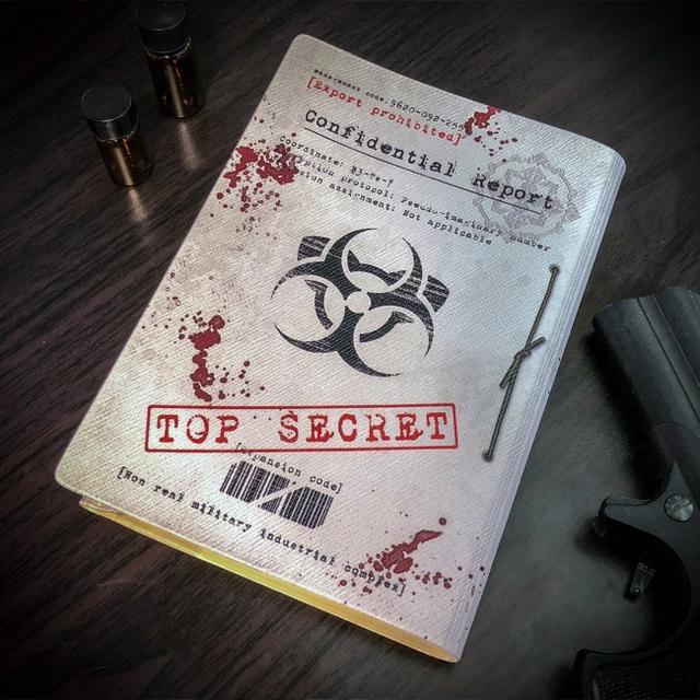 画像2: 本の中身は機密事項…