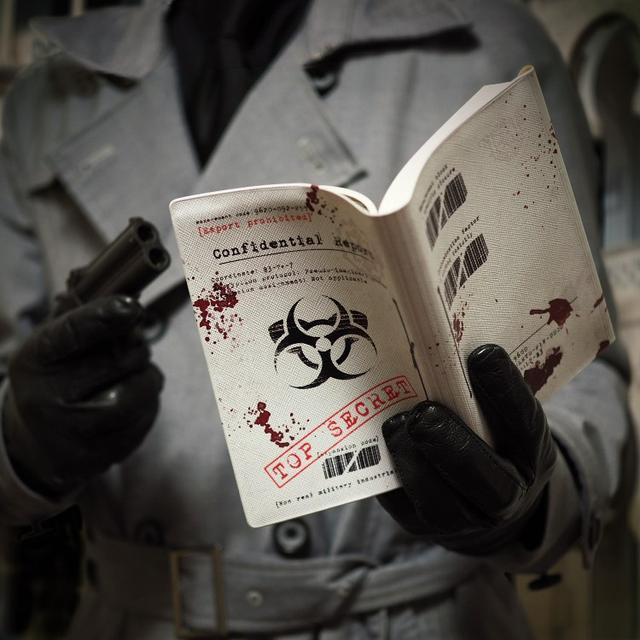 画像: 【倉戸みと】ただの文庫本を「機密書」に変身させるブックカバー。 / 雑貨通販 ヴィレッジヴァンガード公式通販サイト