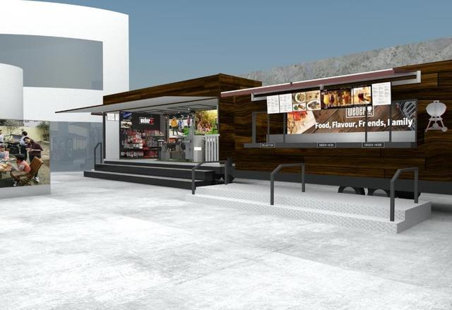 画像2: 体感型BBQパーク 「Weber Park」が世界初登場!