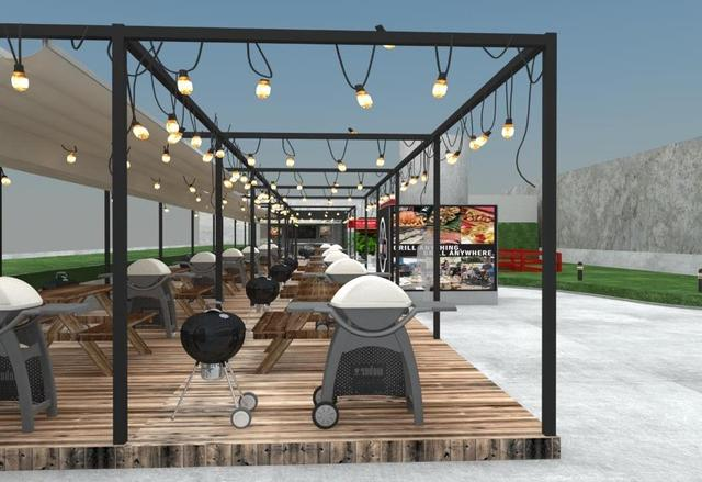 画像1: 体感型BBQパーク 「Weber Park」が世界初登場!