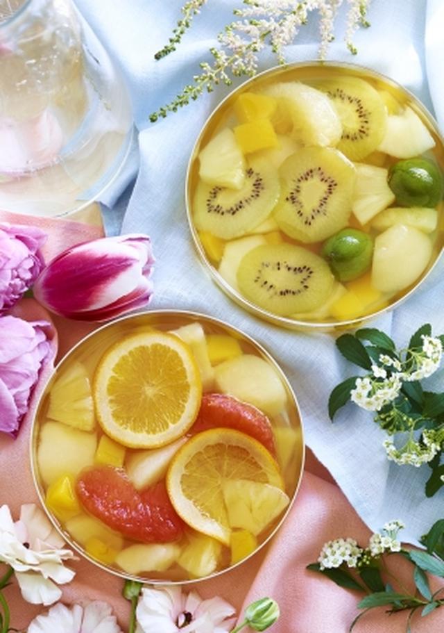 画像: 【パティスリー キハチ】カラフルなフルーツがたっぷり、新作「フルーツポンチ」2種発売