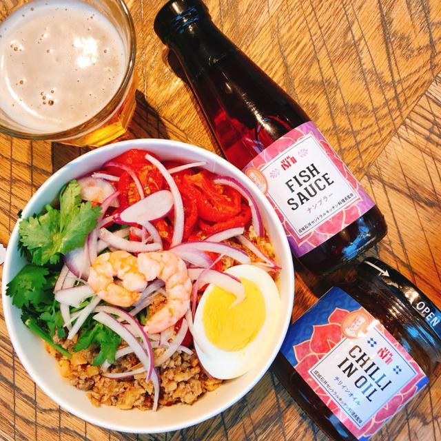 画像: 「海老と豚ひき肉のトムヤムビーフン」/¥599