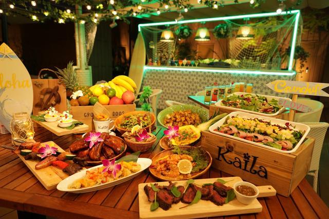 画像2: メインが選べる充実したハワイアン料理&飲み放題セット