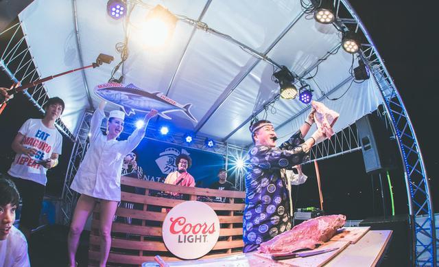 画像1: 極上のハウスミュージックと絶品のマグロの狂宴!女性はLINE@・SNS登録で入場無料の大判振る舞い!