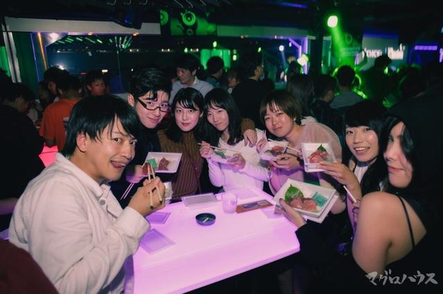 画像3: 極上のハウスミュージックと絶品のマグロの狂宴!女性はLINE@・SNS登録で入場無料の大判振る舞い!