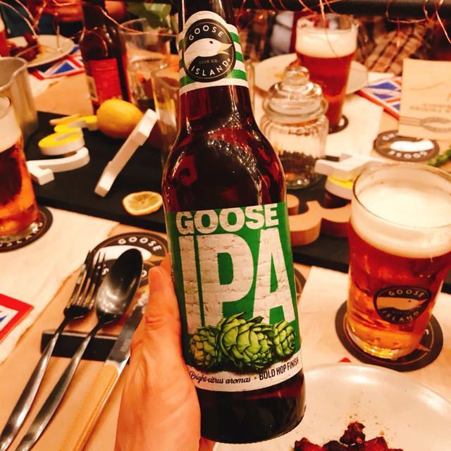 画像: ◆ブランド代表ビール「Goose IPA」