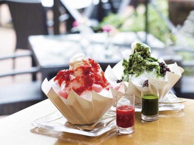 """画像1: これぞ、日本の夏デザート。""""シメパフェ""""ならぬ""""シメかき氷""""もおすすめです!"""