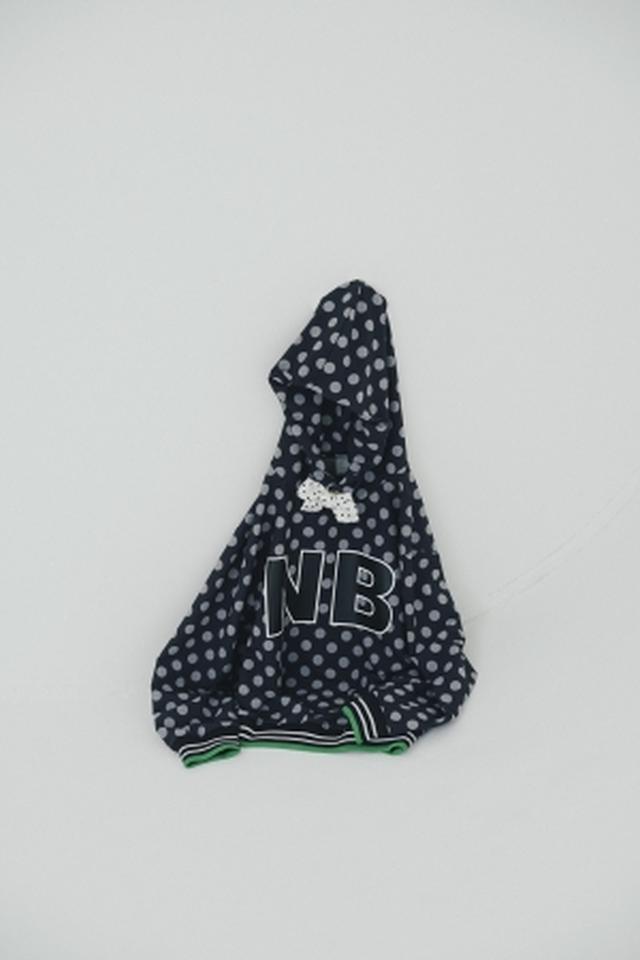 画像: 商品名:Frapbois Dot Pull over 価格:14,800円+税 カラー:BK サイズ:M、L 発売日:7月10日(火)~ 先行予約:6月16日(土)~