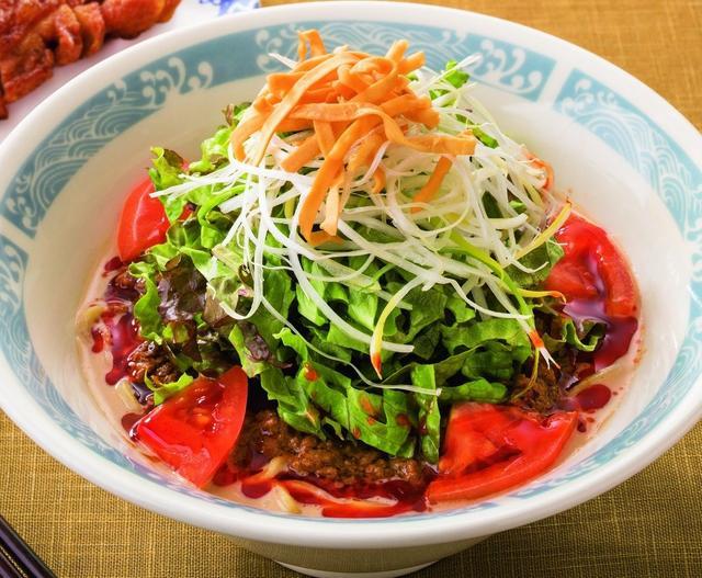 画像: たっぷり野菜の濃厚冷やし担担麺 749円