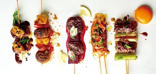 画像: 世界の名物料理を串刺しに!進化系BBQ!「 串キュイジーヌ5 種」