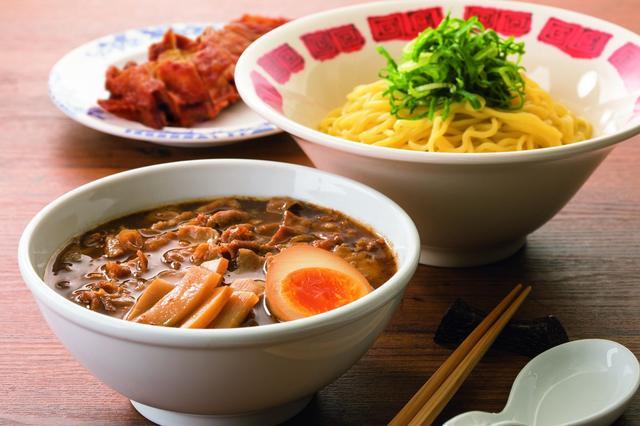 画像: 肉盛りつけ麺~ゆず風味~ 799円 ※画像はセットメニューです。