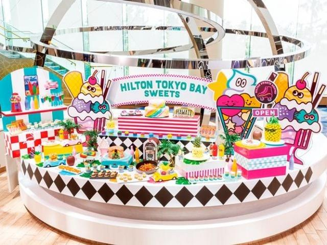 画像: SNS映え必至!40種類のデザートが揃う、ヒルトン東京ベイのサマーデザートブッフェ開催