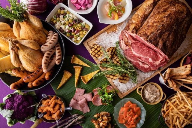 画像1: 【豪華】牛肉のリブロースステーキやフォトジェニックなビールフロートがついた夏季限定「ビアホールプラン」